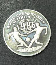 MONETA JAMAICA 25 DOLLARS 1986 23,2 gr ARGENTO WORLD CHAMPIONSHIP FOOTBALL