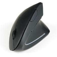 CSL TM137G ergonomische kabellose Vertikal Maus 1600dpi Optisch wireless schwarz