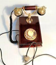TELEFONO FISSO IN LEGNO VINTAGE