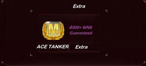 World Of Tanks BOOST   M class Ace Tanker   6h   Not Bonus Code   WOT EU NA RU
