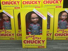Mezco child's play 2 chucky good guys doll talking 15 inch DENTS TO BOXES