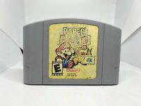 Paper Mario N64 (Nintendo 64) Authentic & Working!