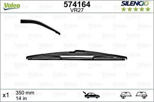 VALEO Wiper Blade Rear For PEUGEOT CITROEN RENAULT FIAT DACIA FORD 206 B 642392