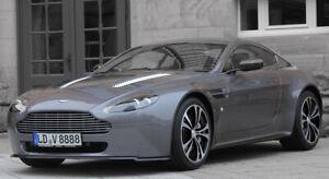 "Original Aston Martin V12 Vantage forged 19"" wheel set Carbon Black Edition rim"