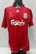 Liverpool Champion League final 2007 home shirt jersey 2006 2008 red ORIGINAL