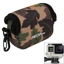 Maple Leaves Pattern Inner Protective Bag Case Camera Pouch for GoPro Hero4/3+/3