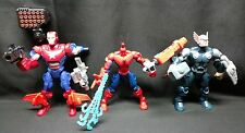 Lot of Mixed Marvel Super Hero Mashers not complete THOR SPIDER-MAN IRONMAN