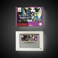 Castlevania Vampire's Kiss PAL EUR Version With Retail Box Action Game SNES