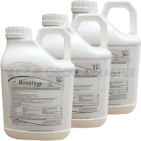 3 x 5L Rosate 360 TF Very Strong Professional Glyphosate Weedkiller