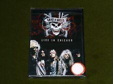 GUNS N' ROSES LIVE IN CHICAGO USA TOUR ROSEMONT HORIZON CONCERT 1992 DVD New