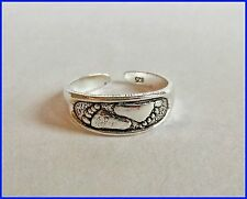 Sterling Silver (925) Pair Of Feet Toe Ring ! Brand New !