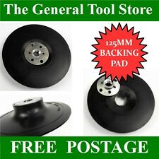 125mm ABS BACKING PAD FOR POLISHING LAMBSWOOL BONNETS. SANDER  POLISHER GRINDER