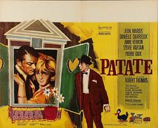 PATATE FRIEND OF THE FAMILY Belgian movie poster JEAN MARAIS SYLVIE VARTAN RAY