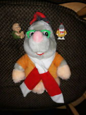 Once Upon A Forest Edgar plush & pvc PLUS Russell Long John Silvers straw slider