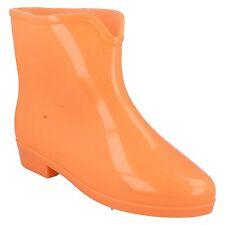 Spot On x1197 PVC VERDE , Azul Naranja Brilla en la oscuridad Botas De Agua