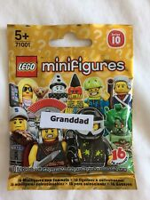 LEGO MINIFIGURES SERIES 10 GRANDPA - BRAND NEW/FACTORY SEALED PACKET