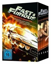 5 DVDs Fast & and Furious The Complete 1-5 Collection Teil 1 bis 5 NEUWARE