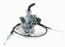 Carburetor & Throttle Cable for Honda ATC90 ATC110 ATC125M TRX90 TRX125 Trax ATV