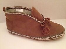 Deer Stags Slippers Womens Size 11 M Brown Slipperooz 11M Mutsy Bootie Shoes