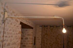 LAMPE POTENCE atelier industriel minimaliste Chapo Prouve Mategot Perriand