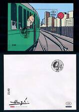 [49476] Belgium 2007 Tintin Numbered ed. in special envelop RARE Railway Used