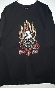 Dark Attitude-Burn Love-T shirt -mens size XL