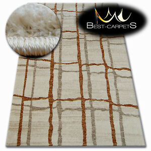 Thick Quality 20mm Modern Design Densely Rugs SHADOW beige 9359 Large Small Size