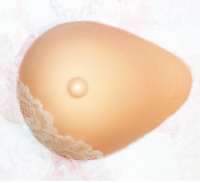 a21679f4a70 Soft Lifelike Prosthesis Tear Drop Silicone Breasts Forms for Mastectomy  Women A