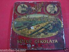 ANTIQUE TURKISH TIN CHOCOLATE BOX