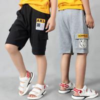Jungen Kinder Shorts kurze Hose Sommer Jungs Jogginghose Gr.116-158