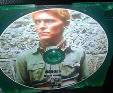 DAVID BOWIE CD - RARE EXTENDED REMIX OF THE CLASSIC TRACK - HEROES! PERFECT ITEM