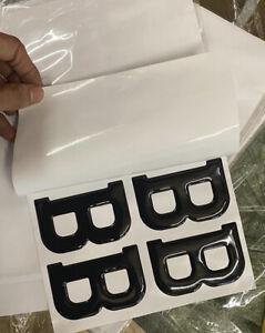3D Gel number Plate Letter A-Z 1-9 pack Of 10 Pcs Car Van Number plates Legal