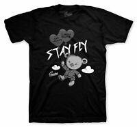 Shirt Match Jordan 4 Black Cat - Money Over Love Tee