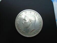 More details for 1938 king george vi bare head 1 silver half crown ref spink 4080 a3