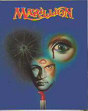 "MARILLION  X 1 POSTCARD 8"" X 10"" EARLY YEARS 1988 OFFICIAL ORIGINAL"