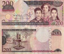 DOMINICAN REPUBLIC 200 Pesos Oro, 2007, P178, UNC