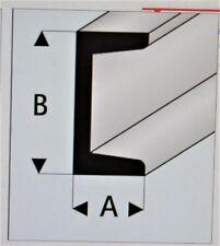 MAQUETT 412-59 Blanc Styrène C anglo-normand 10.0mm X 5.0mm/1cmx0.5cm 330mm 5
