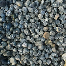 500g Natural Unheated Blue Sapphire Corundum Facet Rough Specimen #A