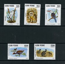 S107  Cape Verde  1981   birds  owls   5v.     MNH