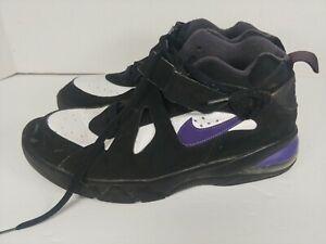Nike Air Force Max CB Charles Barkley Black/Purple/White AJ7922-004 Men Size 13