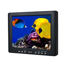 "Portable HD 8"" TFT LCD Monitor VGA BNC Video Audio HDMI+Car Charger For Car DVR"