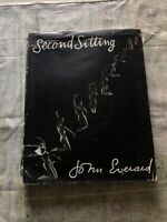 Second Sitting, by John Everard Hardcover Book 1958