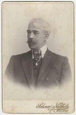 *KONSTANTIN STANISLAVSKY LEGENDARY DIRECTOR-ACTING TEACHER 1900 CABINET PHOTO*