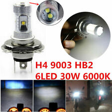 9003 H4 LED Headlight Bulbs Kit Fog Lights High Low Beam 35W 4000LM 6000K White