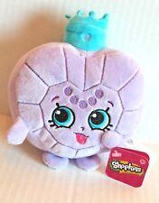 "Shopkins Princess Scent Light Purple Perfume Bottle 6"" Plush Stuffed Toy NEW"