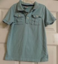 Toddler Boy's Gymboree Blue Short Sleeve Polo Shirt Size 4T Boys
