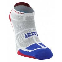 Hilly Twin Skin Double Layer Vented Anti Blister Running Sports Socklet Sock
