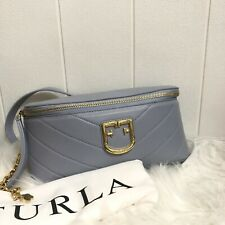 Clearance sale Authentic Furla Isola Belt Bag Leather  Rare Color(Like New)