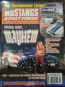 Muscle Mustangs & Fast Fords MM&FF Back Issue May 2002