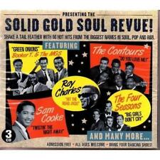 SOLID GOLD SOUL REVUE Various NEW & SEALED CLASSIC SOUL R&B 3x CD (GO ENTERTAIN)